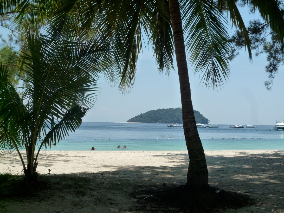 island around Kota Kinabalu