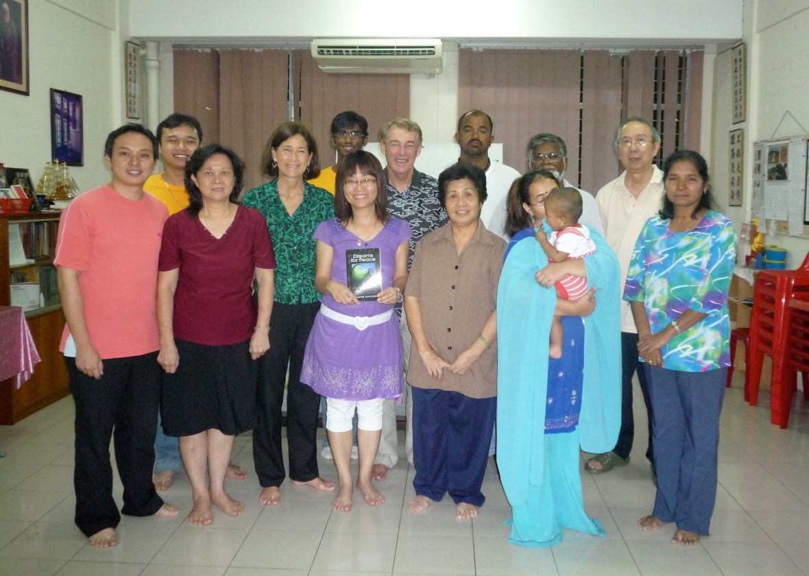 Dream Meeting with Baha'is of Sandakan